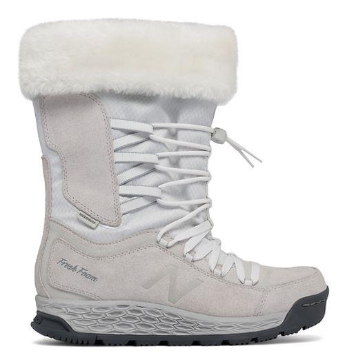 Womens New Balance 1000v1 Walking Shoe - White/Lead 6