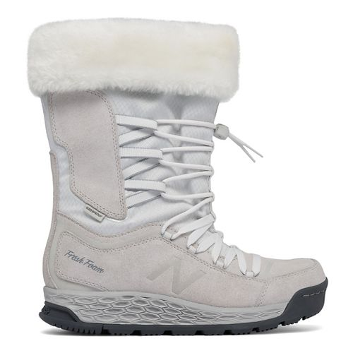 Womens New Balance 1000v1 Walking Shoe - White/Lead 8