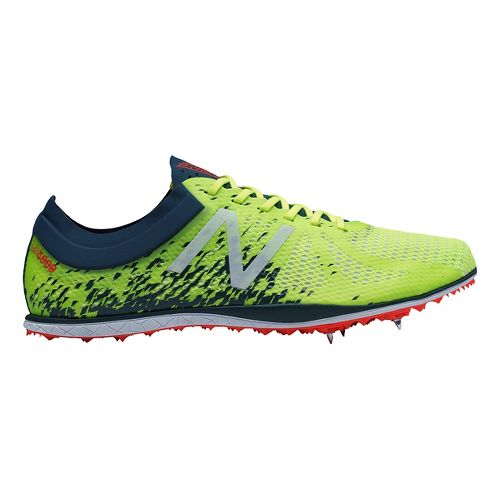 Mens New Balance LD5000v4 Track and Field Shoe - Yellow/Green 11