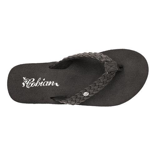 Womens Cobian Braided Bounce Sandals Shoe - Black 9