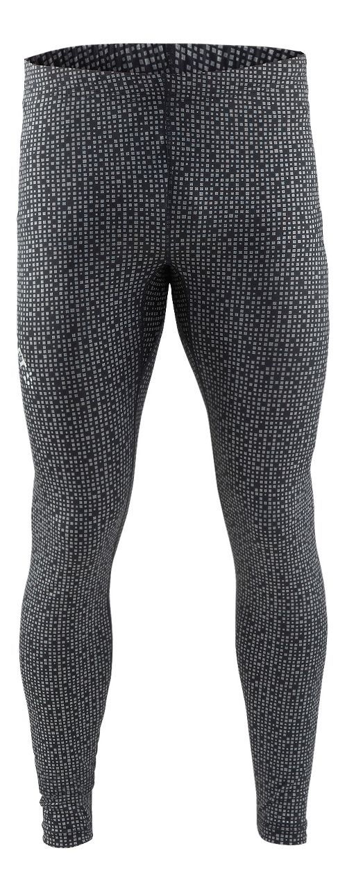 Mens Craft Mind Reflective Tights & Leggings Pants - Black S