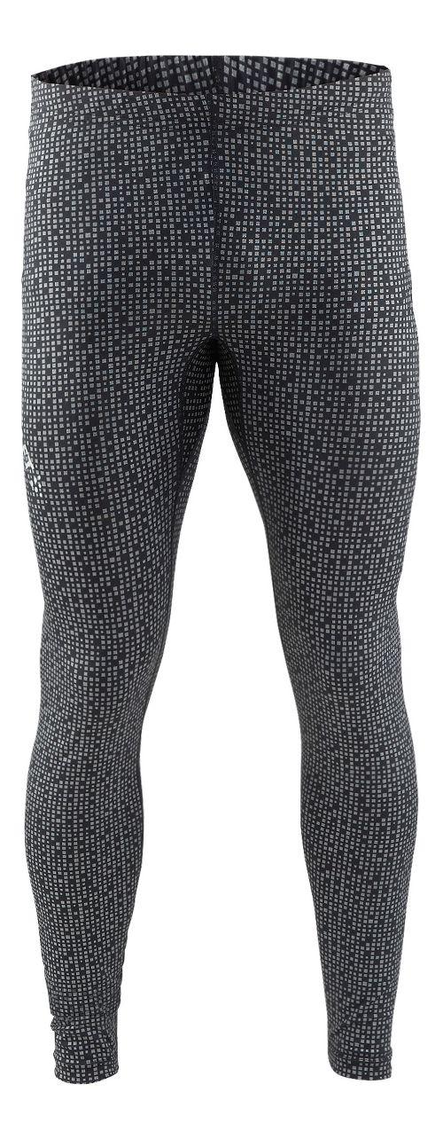 Mens Craft Mind Reflective Tights & Leggings Pants - Black XS