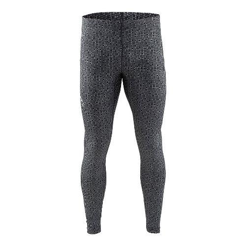 Mens Craft Mind Reflective Tights & Leggings Pants - Black L