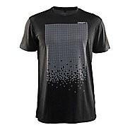 Mens Craft Mind Reflective Tee Short Sleeve Technical Tops