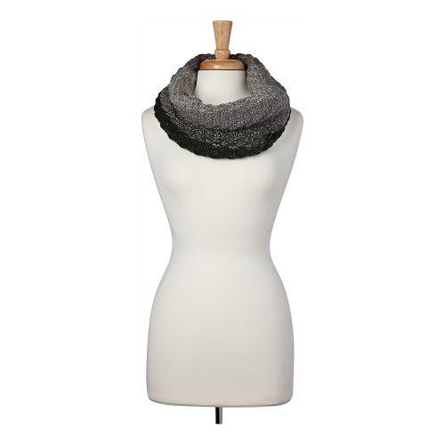 Womens prAna Terrington Infinity Scarf Headwear - Black OS