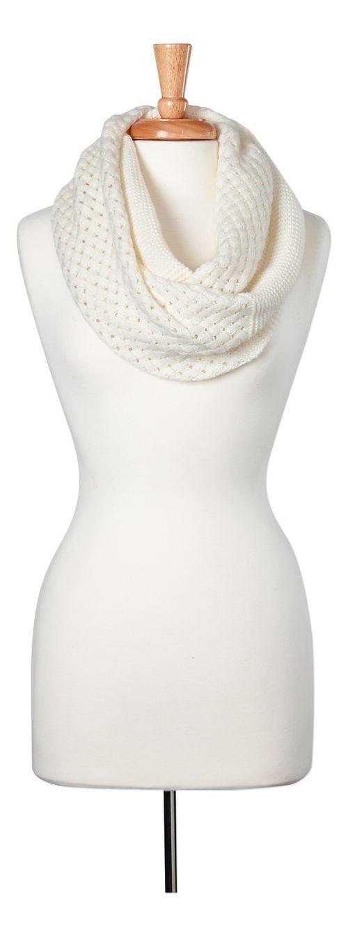 Womens prAna Viva Scarf Headwear - White OS