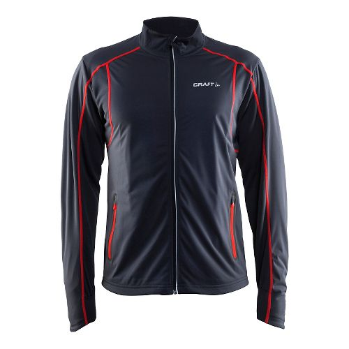 Mens Craft Podium Warm Cold Weather Jackets - Blue/Gravel XL