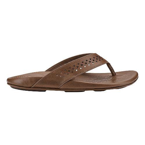 Mens Olukai Kohana Sandal Sandals Shoe - Black/Black 8