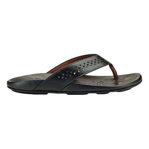 Mens Olukai Kohana Sandals Shoe - Toffee/Toffee 12