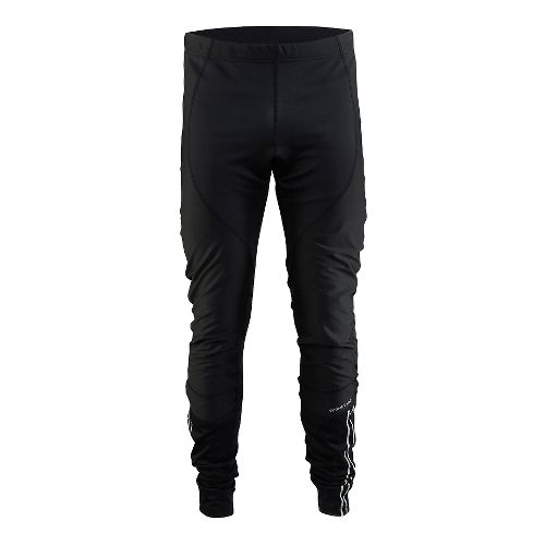 Mens Craft Velo Thermal Wind Tights & Leggings Pants - Black L