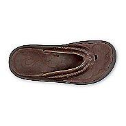 Mens Olukai Hokua Leather Sandals Shoe