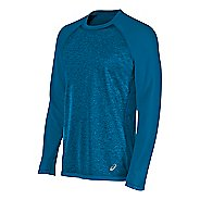 Mens ASICS Reversible Long Sleeve Technical Tops