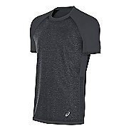 Mens ASICS Reversible Short Sleeve Technical Tops