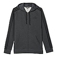 Mens Adidas Essential Cotton Fleece Full-Zip Casual Jackets