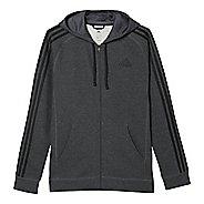 Mens Adidas Essential Cotton Fleece Full-Zip Casual Jackets