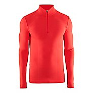 Mens Craft Wool Comfort Half-Zips & Hoodies Technical Tops