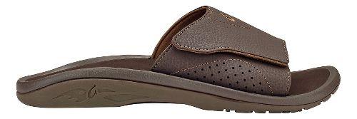 Mens Olukai Nalu Slide Sandals Shoe - Dark Java/Dark Java 12