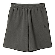 Mens Adidas Essential Cotton Fleece Lined Shorts