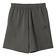 Mens Adidas Essential Cotton Fleece Lined Shorts