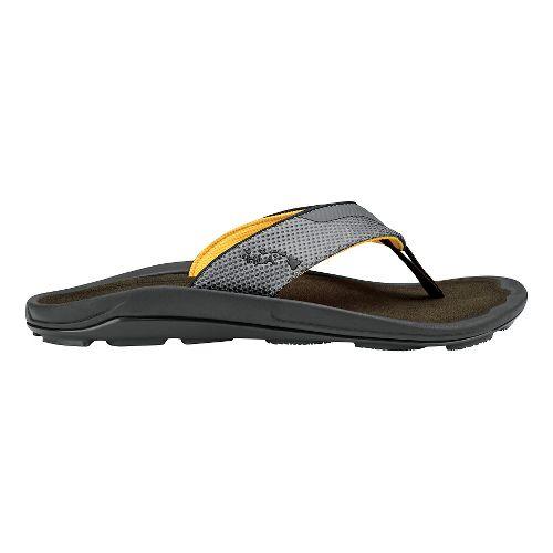 Mens Olukai Makolea Sandals Shoe - Kona/Kona 14