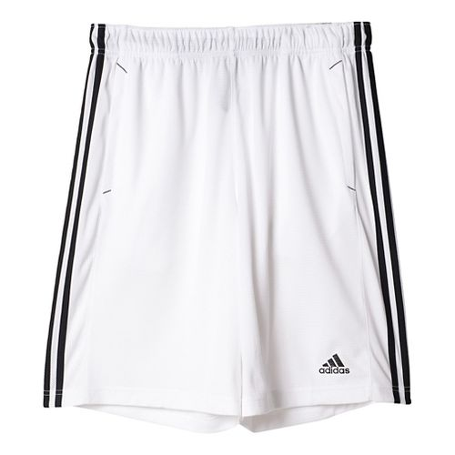 Mens Adidas Essential Unlined Shorts - White/Black M