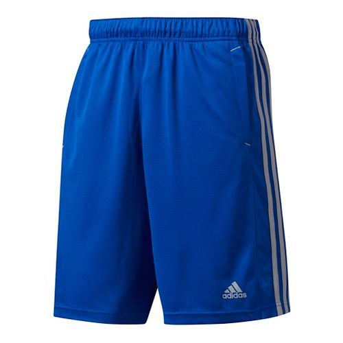 Mens Adidas Essential Unlined Shorts - Royal/Grey M