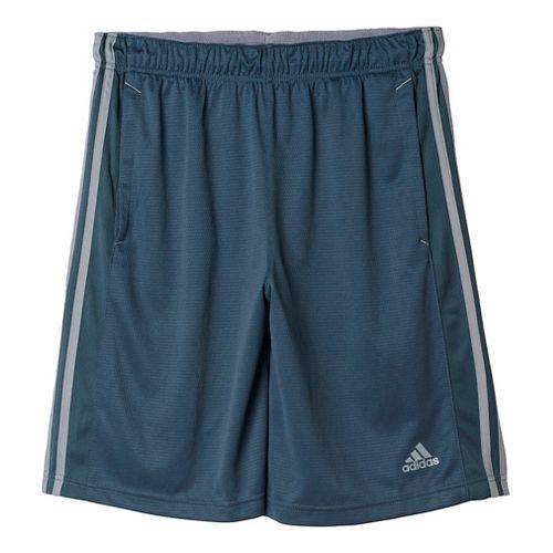 Mens Adidas Essential Unlined Shorts - Onyx/Grey L