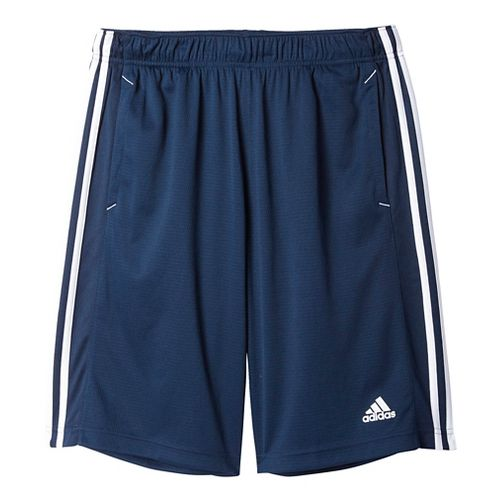 Mens Adidas Essential Unlined Shorts - Navy/White 2XL
