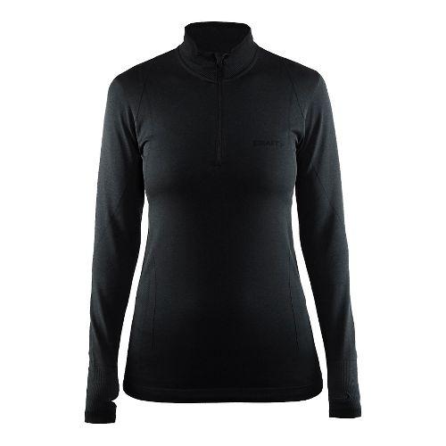Womens Craft Active Comfort Half-Zips & Hoodies Technical Tops - Black M