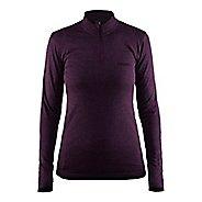 Womens Craft Active Comfort Half-Zips & Hoodies Technical Tops
