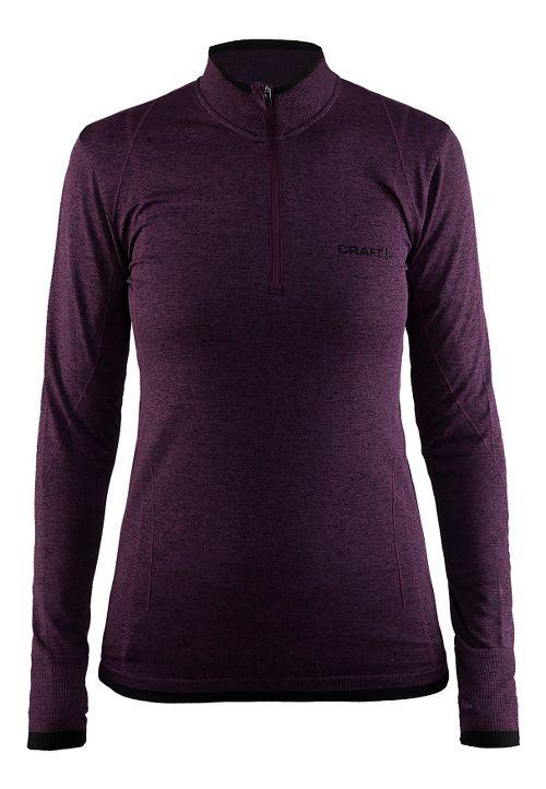 Womens Craft Active Comfort Half-Zips & Hoodies Technical Tops - Space M