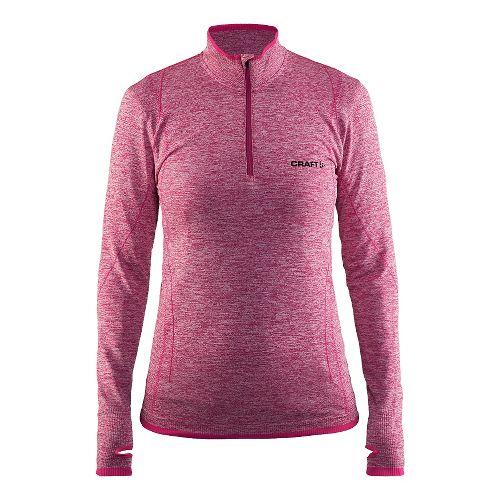 Womens Craft Active Comfort Half-Zips & Hoodies Technical Tops - Smoothie L