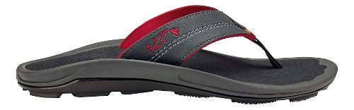 Mens OluKai Kipi Sandals Shoe - Dark Shadow 13