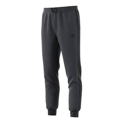 Mens Adidas Essential Tricot Jogger Pants - Dark Grey/Black 2XL