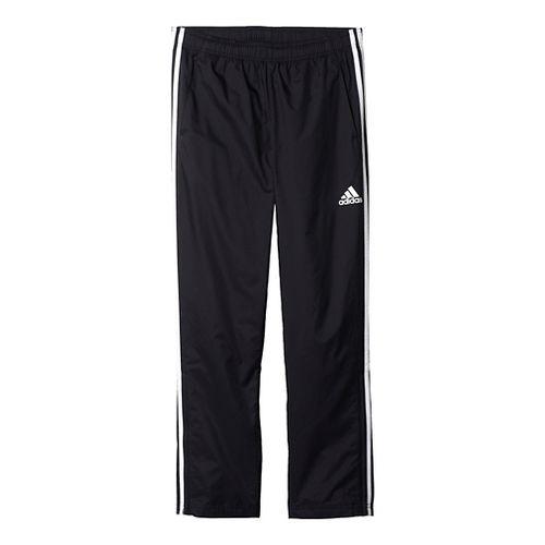Mens Adidas Essential Woven Pants - Black/White L