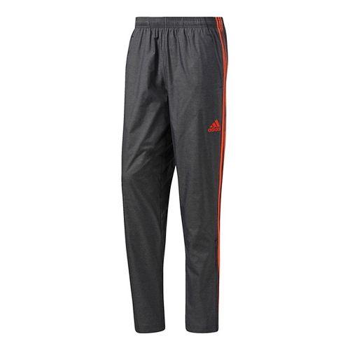 Mens Adidas Essential Woven Pants - Black/Energy S