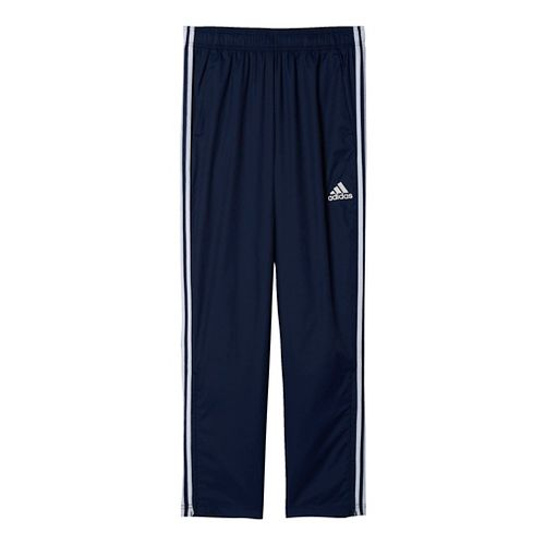 Mens Adidas Essential Woven Pants - Navy/White L