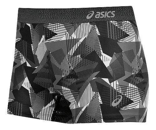Womens ASICS Team Unlined Shorts - Steel Grey/Black XL