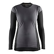 Womens Craft Extreme 2.0 CN WS Long Sleeve Technical Tops