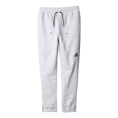 Mens Adidas Postgame Pants - Light Grey/Black M