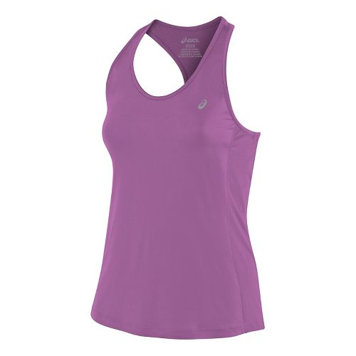 Womens ASICS ASX Dry Sleeveless & Tank Tops Technical Tops - Orchid S