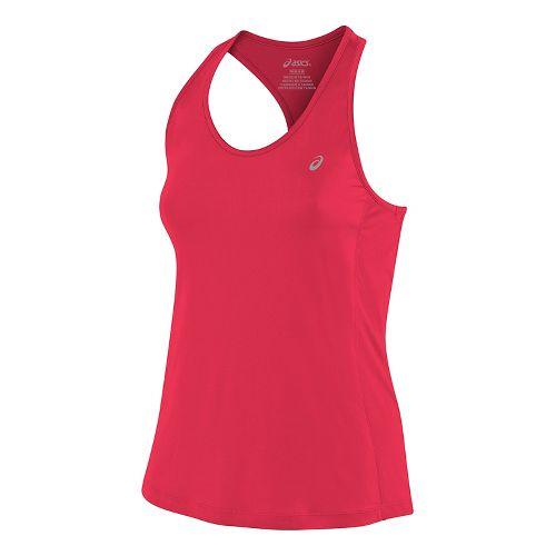 Womens ASICS ASX Dry Sleeveless & Tank Tops Technical Tops - Diva Pink L