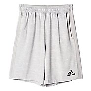 Mens Adidas Team Issue 3-Stripe Heathered Unlined Shorts