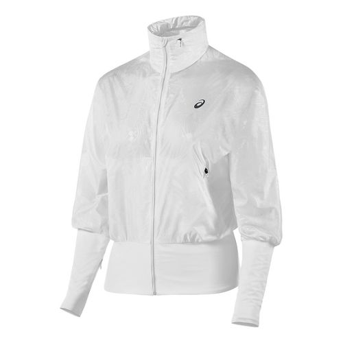 Womens ASICS Athlete GPX Casual Jackets - White M