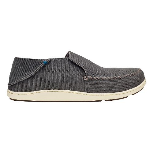 Mens Olukai Akahai Canvas Casual Shoe - Mustang/Mustang 9