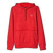 Mens Adidas Team Issue Fleece Pullover Half-Zips & Hoodies Technical Tops