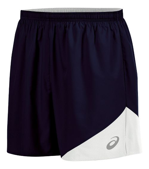 Mens ASICS Gunlap Lined Shorts - Navy/White S