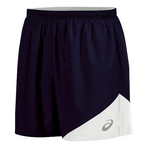 Mens ASICS Gunlap Lined Shorts - Navy/White M