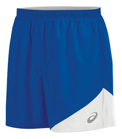 Mens ASICS Gunlap Lined Shorts - Royal/White S