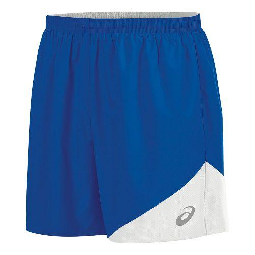 Mens ASICS Gunlap Lined Shorts - Royal/White L